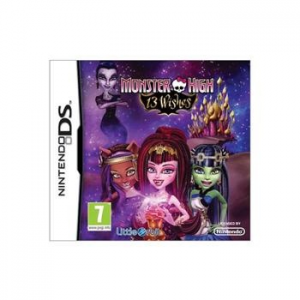 Monster High: 13 Wishes - The Official Game - NDS