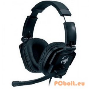 Genius HS-G550 Lychas Gaming Headset Black Headset,2.0,3.5mm,Kábel:2,5m,32Ohm,20 - 20000Hz,Mikrofon,Black