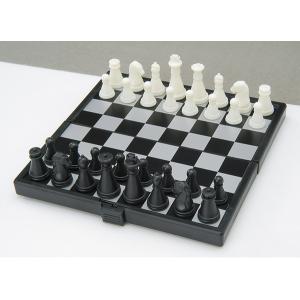 Gém Összehajtható mágneses sakk, műanyag, 13x13,5x1,1cm