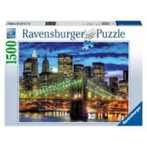 Ravensburger Puzzle 1500 db New York fényei