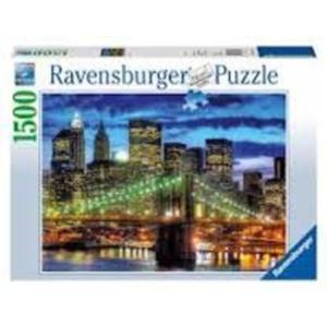 Ravensburger Puzzle 1500 db New York fényei
