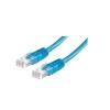 ROLINE Cable ROLINE UTP CAT5e patch 1m kék