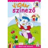 Cahs Kiadó Vidám színező -Matricás kifestő füzet