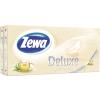 ZEWA Zewa Deluxe papírzsebkendő 10x10db Zöld Tea