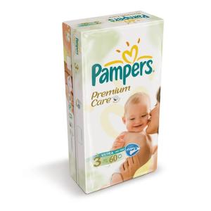 Pampers Pampers Premium Care Midi pelenka (60 db)