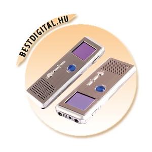 Diktafonos videó rögzítő LCD 4GB