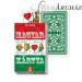 Magyar kártya papír dobozban