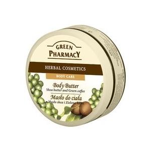 Gyógynövényes testvaj Shea vaj és zöldkávé 200 ml
