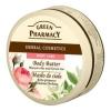 Green Pharmacy Gyógynövényes testvaj Muscat rózsa és zöldtea 200 ml