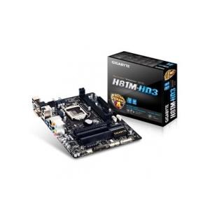 Gigabyte H81M-HD3 skt1150 (H81, 2xDDR3 1600MHz, 1xGBE LAN, 2xSATA3, 6xUSB2.0, 6xUSB3.0)