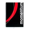VICTORIA Spirálfüzet, A4, kockás, 90 lap, perforált, lyukasztott, VICTORIA, Momentum (ISVFS90K)