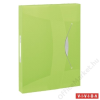 ESSELTE Gumis mappa, 40 mm, PP, A4, ESSELTE Jumbo Vivida, zöld (E624051)