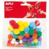 APLI Pom-pom, APLI Creative, vegyes színek (LCA13061)