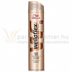 Wella flex - Shiny Hold Hajlakk 200 ml