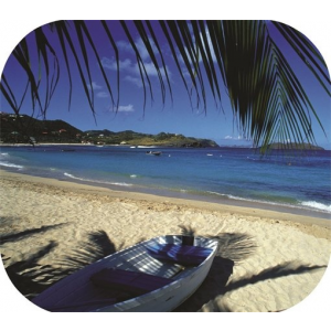 FELLOWES Egéralátét, téglalap alakú, FELLOWES Brite™, tengerpart