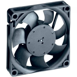 EBM Papst EBM Papst Axiális ventilátor 712 m³ / h, 38 dBA, 70x70x15 mm, 712F