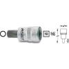 Hazet Sokszögű dugókulcsbetét 6 mm (3/8)Kulcstávolság 10 mm Meghajtás (szerszám) 10 mm (3/8)Hazet 8808-6