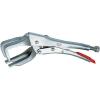 Elektróda fogó 280 mm, befogás Ø 30-65 mm, négyszög 50 mm, Knipex 42 14 280