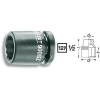 Hazet 6 lapú erő dugókulcsfej/belső négyszög 12,5 mm (1/2), Hazet 900SZ-36