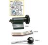 Hazet Motor beállító szerszám készlet vézérműszíj cseréhez, Hazet 2588/3 csavarhúzó