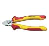 Wiha VDE oldalcsípő fogó 140 mm, vágási érték: lágy/közepes/kemény huzal: 4/2,5/1,8 mm, Wiha 26737 fogó