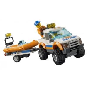 LEGO Lego City: 4X4 Könnyűbúvár Hajó 60012