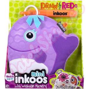 Inkoos Színezhető mini Bálna plüss - Inkoos