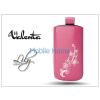 Valenta POCKET LILY S20 univerzális bőrtok - Apple iPhone 5/5S - pink