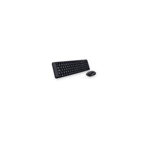 Logitech Desktop MK-220 Cordless Keyboard + Mouse