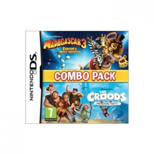 Madagascar 3: Europe's Most Wanted + The Croods: Prehistoric Party (Combo Pack) - NDS