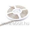 Whitenergy |5m|5050|60db/m|14.4W/m|12V|vízálló, piros LED szalag