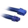 Bitfénix Bitfenix 8-Pin PCIe hosszabbító 45cm - kék / kék