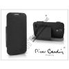 Pierre Cardin Samsung i9500 Galaxy S4 flipes slim tok - Pierre Cardin DeLuxe Slim Folio - black