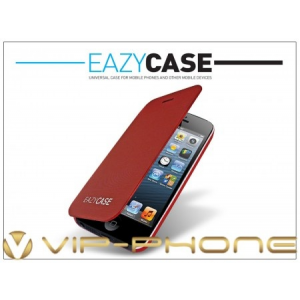 Eazy Case Apple iPhone 5/5S ultra slim flipes tok - red
