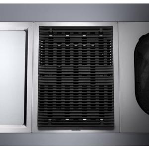 Gaggenau VR 414 110 Vario  grill , 38cm-es, inox szegéllyel