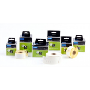DYMO Etikett, LW nyomtatóhoz, 12x50 mm, 220 db etikett, DYMO