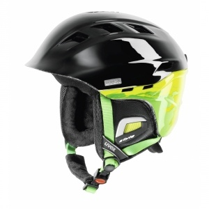 Uvex Uvex Comanche síbukósisak fekete/zöld