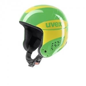 Uvex Jump síbukósisak sárga/zöld