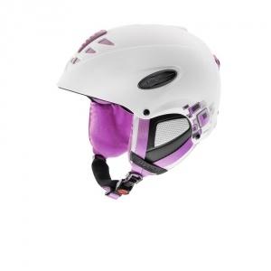 Uvex Uvision Air síbukósisak fehér/pink