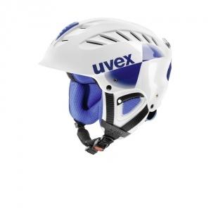 Uvex Uvex X-ride Race síbukósisak fehér/kék