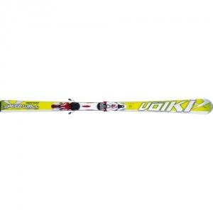 Völkl Racetiger Speedwall SL síléc rMotion 12.0 D (fekete/fehér/piros) kötéssel 160 cm