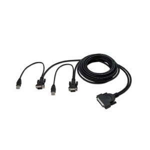Belkin KVM Switch OMNIVIEW Cable OCTPUS USB DUAL P