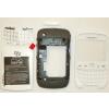 Blackberry 9300 Curve komplett ház fehér*