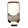 Blackberry 9300 előlap alsó takaró csíkkal piros