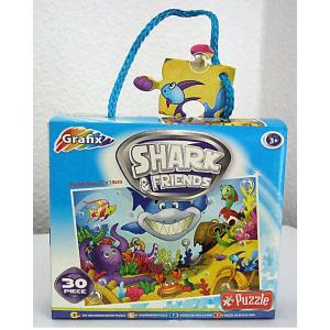 SHARK & FRIENDS (CÁPA ÉS BARÁTAI) PUZZLE