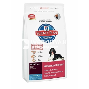 Hill's SP Canine Adult Advanced Fitness™ Tuna & Rice 12 kg