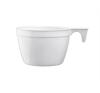 Műanyag kávéspohár, füles, 165 ml, 25 db kávé
