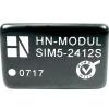 HN Power DC/DC átalakító, 3 W, SIM5 sorozat, bemenet: 24 V, kimenet: 12 V 250 mA 3 W, HN Power SIM5-2412S