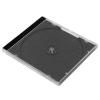CD-tok, normál, 1 lemez, fekete tálca, átlátszó