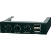 Ventilátor vezérlés, 8,9 cm (3,5), USB 2.0 hubbal